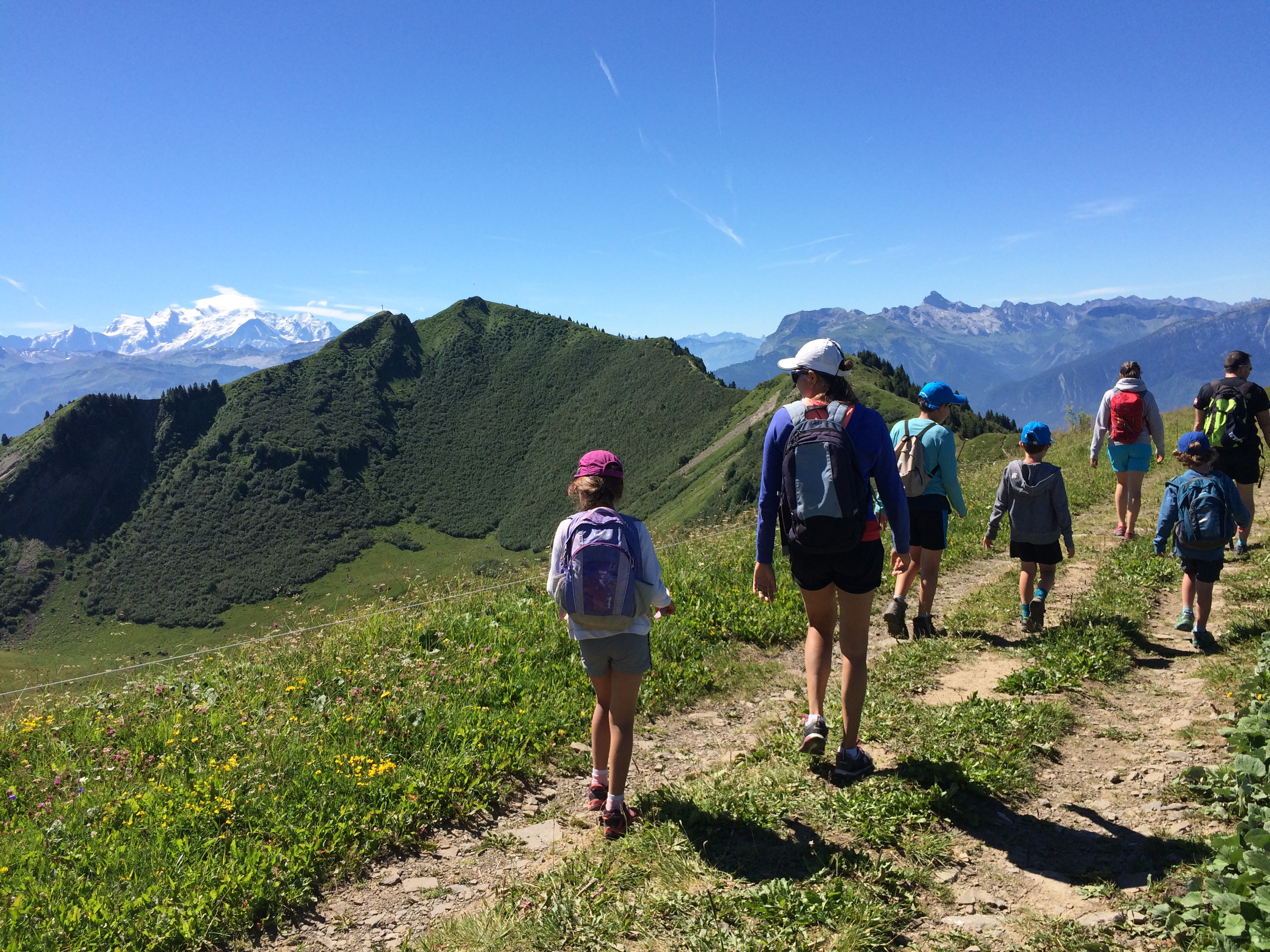 randonnée Go sport Montagne Praz de Lys