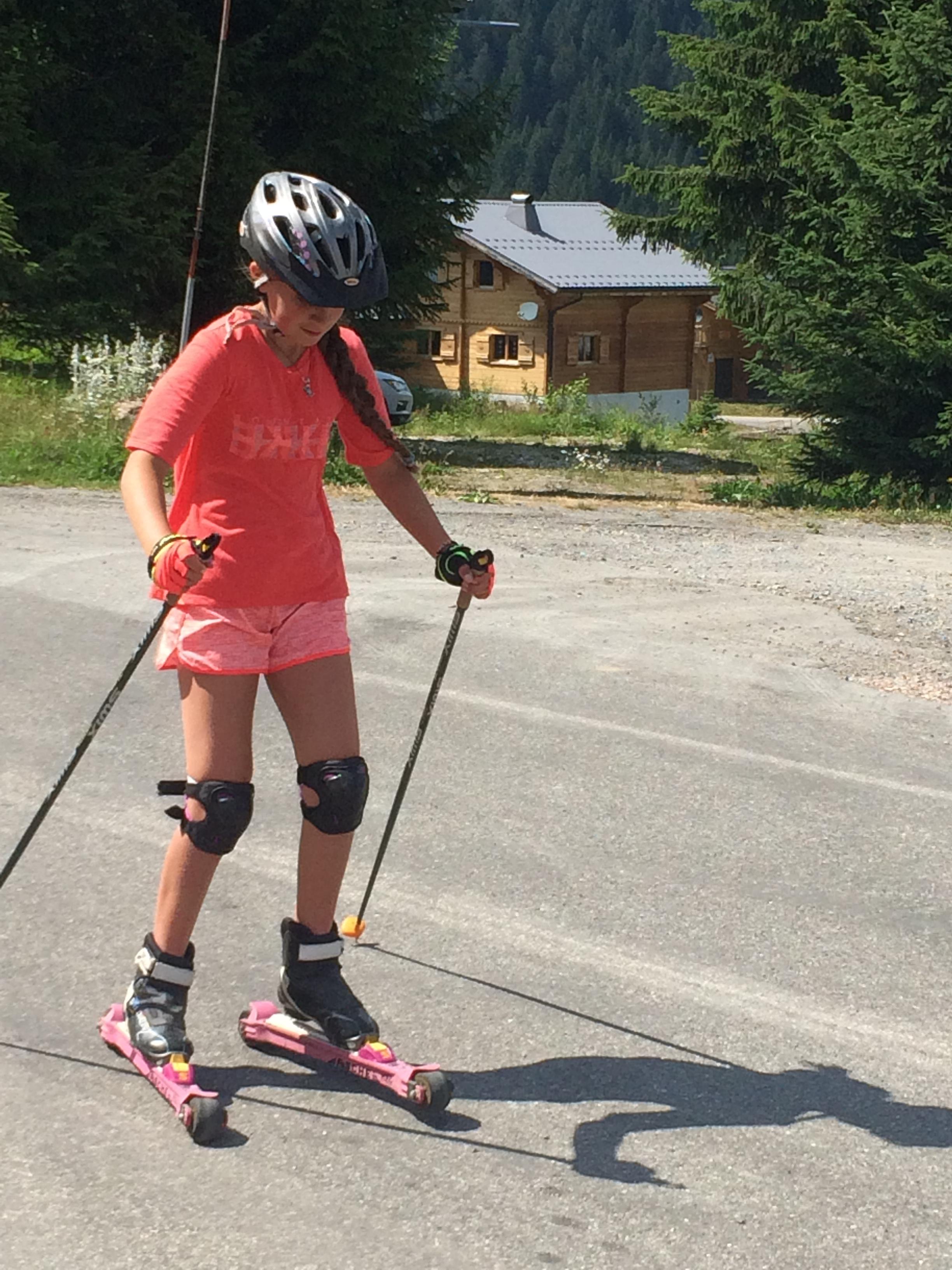 Ski à roulettes ESI Praz de Lys